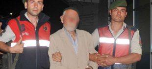 87 yaşında tacizden gözaltı alındı
