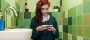 Cep telefonuyla tuvalete girmeyin! TEHLİKE BÜYÜK
