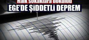 Son dakika… Ege'de (Muğla açıklarında) 6,3 büyüklüğünde deprem