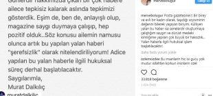 Murat Dalkılıç ile Merve Boluğur 'o haber'e ateş püskürdü