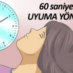 4-7-8 Tekniği ile 60 saniyede uykuya dalmak