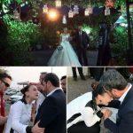 Bu sefer de düğüne kelepçeyle geldiler