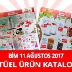 Bim 11 Ağustos 2017 Aktüel Ürün Kataloğu