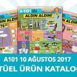 A101 10 Ağustos 2017 Aktüel Ürünler Kataloğu