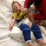 3 Yaşındaki Oğlunun Başına Gelen Hiçbir Çocuğun Başına Gelmesin Diye Herkesi Uyarıyor
