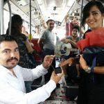 34 BZ aşkında mutlu son… Metrobüste sürpriz evlenme teklifi