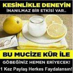Yoğurt Limon Pulbiber Kürü ile Kilo Verme