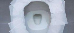 Klozete tuvalet kağıdı serip oturursanız…