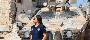 El Bab'da Türk sağlık görevlisi, sosyal medyada trend oldu