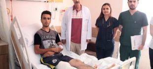 Kanserdi Ayağının Kesilmesi Gerekiyordu Adana'da ilk kez uygulandı Sağlığına Kavuştu dünya tıp literatürüne girdi