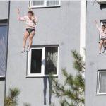 """Genç kız 4'üncü kattan atladı! Annesi söyledikleriyle şok etti """"Ne derdin var hayvan"""""""