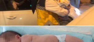 Vicdansızlar, yeni doğan bebeği çöpe attılar
