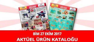 Bim 27 Ekim 2017 Aktüel Ürünler Kataloğu