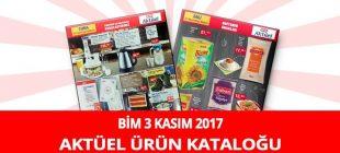 Bim 3 Kasım 2017 Aktüel Ürünler Kataloğu