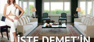 İşte Demet Şener'in muhteşem evi!