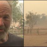 77 Yaşındaki Adam Evinin Yanması Pahasına Orman Yangınından Hayvanları Böyle Kurtardı
