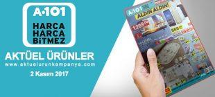 A101 2 Kasım 2017 Aktüel Ürünler Kataloğu
