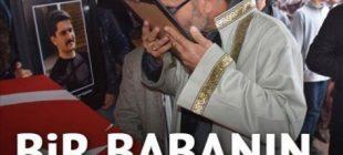 En zor görev… Şehit oğlunun cenaze namazını kıldırdı