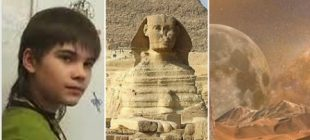 Mars'ta yaşadığını iddia eden Rus dahi çocuk: Sfenks açılınca insanlığın yaşamı değişecek