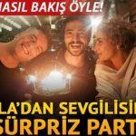 Sıla sevgilisi Ahmet Kural'ın doğum gününü kutladı! Bakışları olay oldu