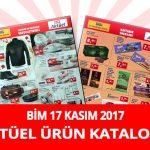 Bim 17 Kasım 2017 Aktüel Ürünler Kataloğu
