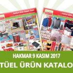Hakmar 9 Kasım 2017 Aktüel Ürünler Kataloğu