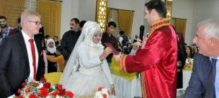 Yer Diyarbakır… Türkiye'de ilk kez bir müftü resmi nikah kıydı