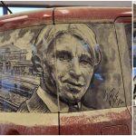 Kirli Camlara Çizilen Muhteşem Ötesi Resimler
