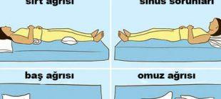 Bu Ağrıları Yaşıyorsanız Uyku Pozisyonlarınıza Dikkat Etmeniz Gerekiyor! Peki nasıl uyumalı