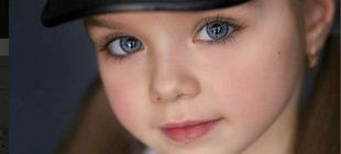 Ona Dünyanın En Güzel Kız Çocuğu Diyorlar – Kamera Gözlerine Odaklanınca İnanamayacaksınız