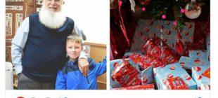Hüseyin Dede, kendisini Noel baba sanan çocuğa 4 yıldır hediye götürüyor