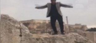 'Bir iki üç Yallah' dedi, 20 metrelik uçuruma böyle atladı ilk başta şaka sanıldı ama …