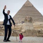 Dünyanın en uzun insanı Sultan Kösen ile en kısa insanı Jyoti Amge buluştu