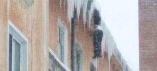 Binanın tepesinde donarak hayatını kaybetti…