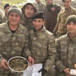 Mehmetçik'e koli koli yemek için 'açıklama'