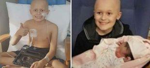 9 Yaşındaki Kanser Hastası Çocuk Kız Kardeşinin Doğumunu Görmek İstiyordu- Son Sözleri Ailesini Ağlattı