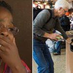 Yaşlı Adamın Havaalanında Elindekini Çöpe Atmak Zorunda Kaldığını Görünce Çok Üzüldü – Hediyeyi Açınca Gözyaşlarına Boğuldu