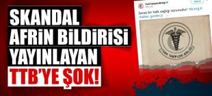 Türk Tabipler Birliği yöneticileri gözaltında!