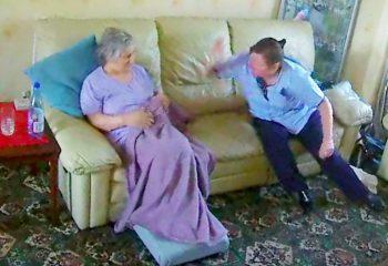 Bakıcının Demans Hastası Annesine Yaptıklarını Görünce Eve Gidip İşine Son Verdi