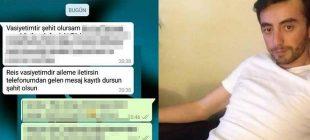 Zeytin Dalı Harekatı'nda şehit olan Astsubay Üstçavuş Musa Özalkan'ın vasiyeti yürekleri burktu
