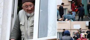 Bu nasıl vicdansızlık! Cama çıkıp avazı çıktığı kadar bağırdı!