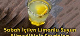 Her Sabah Limonlu Su İçmenin Faydaları