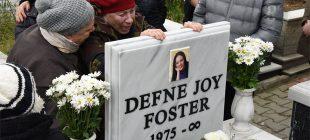 Defne Joy Ölümünün 7. yılında böyle anıldı! Annesi ayakta durmakta güçlük çekti…