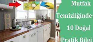 Mutfak Temizliğinde İşinize Yarayacak 10 Pratik Bilgi