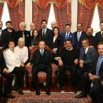 Sanatçılar Cumhurbaşkanı Erdoğan'ın doğum gününü kutladı
