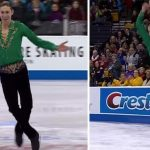 Olimpiyat Yarışmacısı Birden Müzik Değişince Seyircileri Dansıyla Böyle Büyüledi