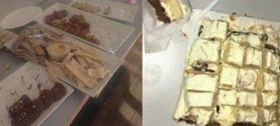 Düğün yemeği için 4 bin 500 lira ücret alıp bisküvi servis ettiler