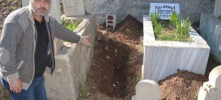 Bebeklerinin mezarını ziyarete geldiler, hayatlarının şokunu yaşadılar!  'Herkes cenazesini bir kere gömer, ben üç kere gömdüm'