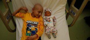 Hayata tutunmak için kardeşinin doğmasını bekliyordu, güzel haber TÜRKÖK'ten geldi