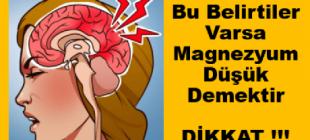 Bu Belirtileri Mutlaka Önemseyin… Magnezyum seviyenizin düşük olduğunu gösteren işaretler